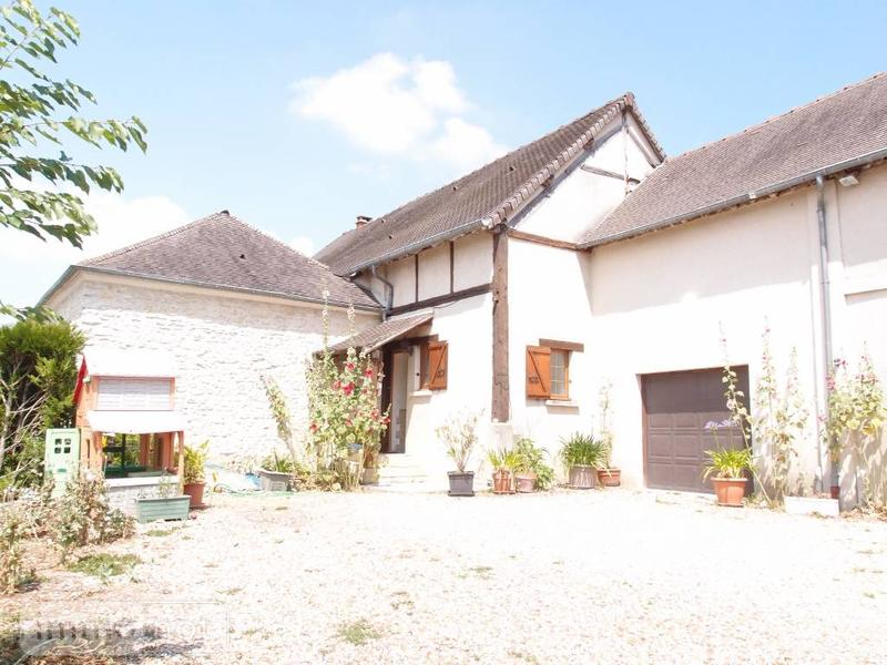 Achat maison a vendre magny en vexin 95420 val d 39 oise 190 m2 8 pi ces 3 - Grange a vendre val d oise ...
