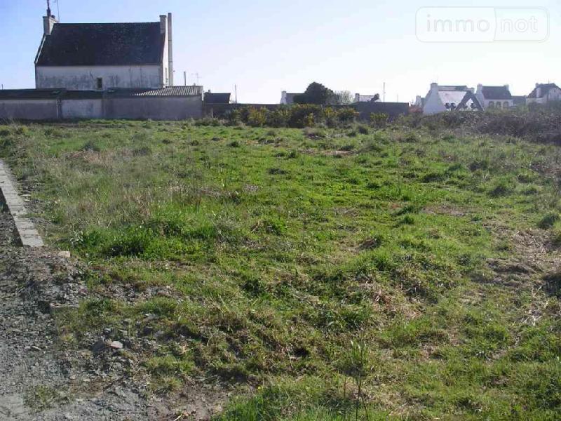 Terrain a batir a vendre Plouhinec 29780 Finistere 817 m2  58022 euros