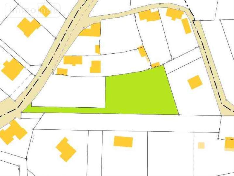 Terrain a batir a vendre Plouhinec 29780 Finistere 1633 m2  47700 euros