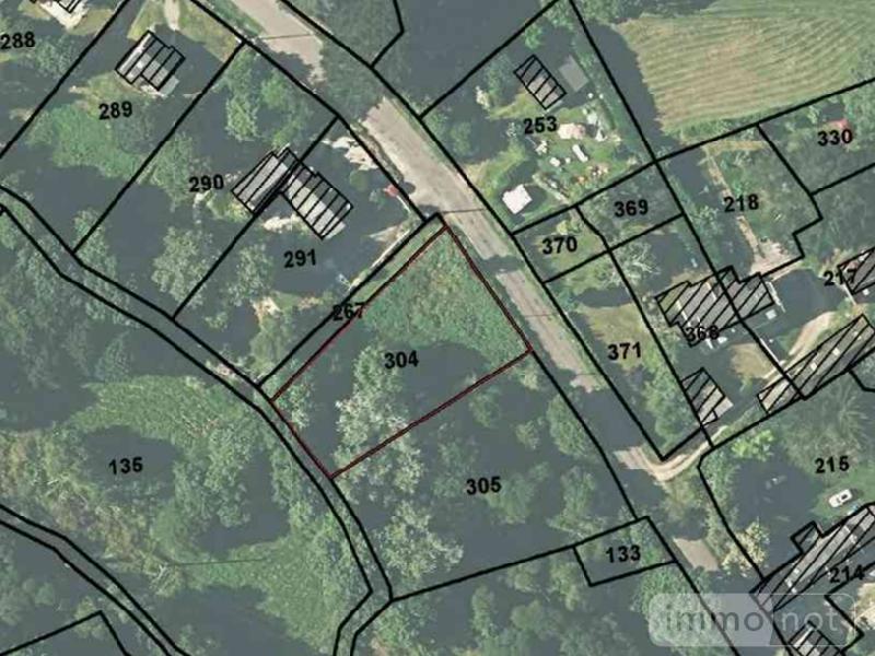 Terrain a batir a vendre Mahalon 29790 Finistere 1035 m2  47700 euros