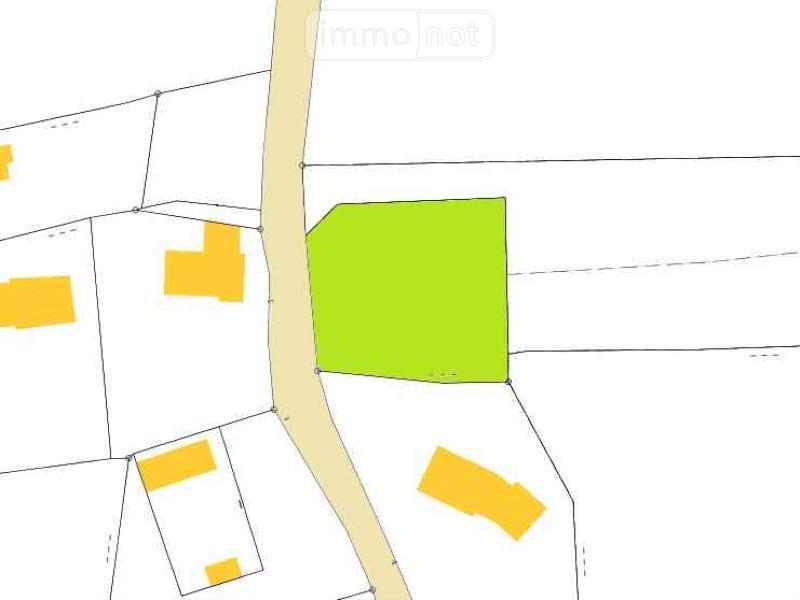 Terrain a batir a vendre Plouhinec 29780 Finistere 1133 m2  42034 euros