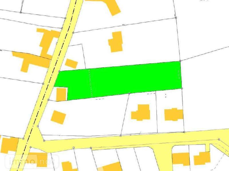 Terrain a batir a vendre Plouhinec 29780 Finistere 1336 m2  37100 euros