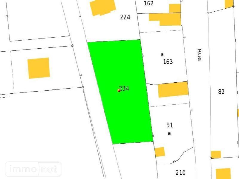 Terrain a batir a vendre Plouhinec 29780 Finistere 1100 m2  40280 euros
