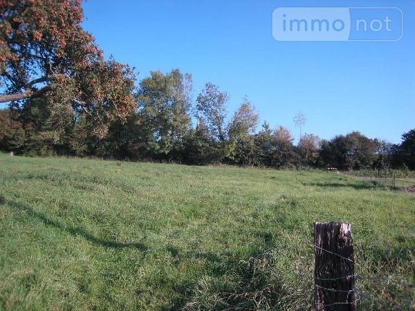 Terrain a batir a vendre Wambercourt 62140 Pas-de-Calais 1500 m2  40000 euros