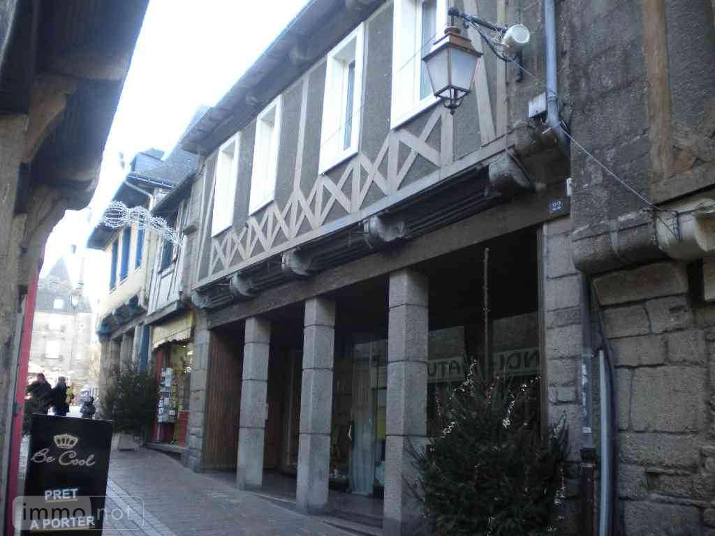 Fonds et murs commerciaux a vendre Pontivy 56300 Morbihan  191922 euros
