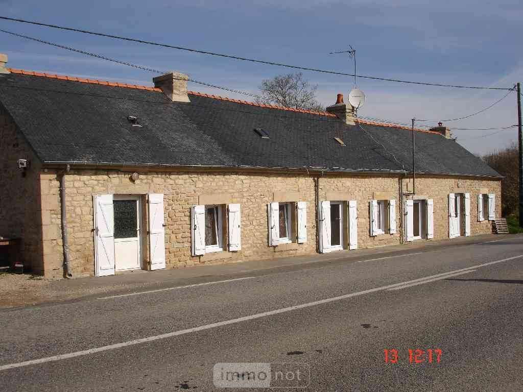 Maison a vendre Langonnet 56630 Morbihan 60 m2 6 pièces 99222 euros