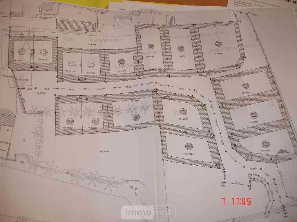 Terrain a batir a vendre Meslan 56320 Morbihan 712 m2  36226 euros