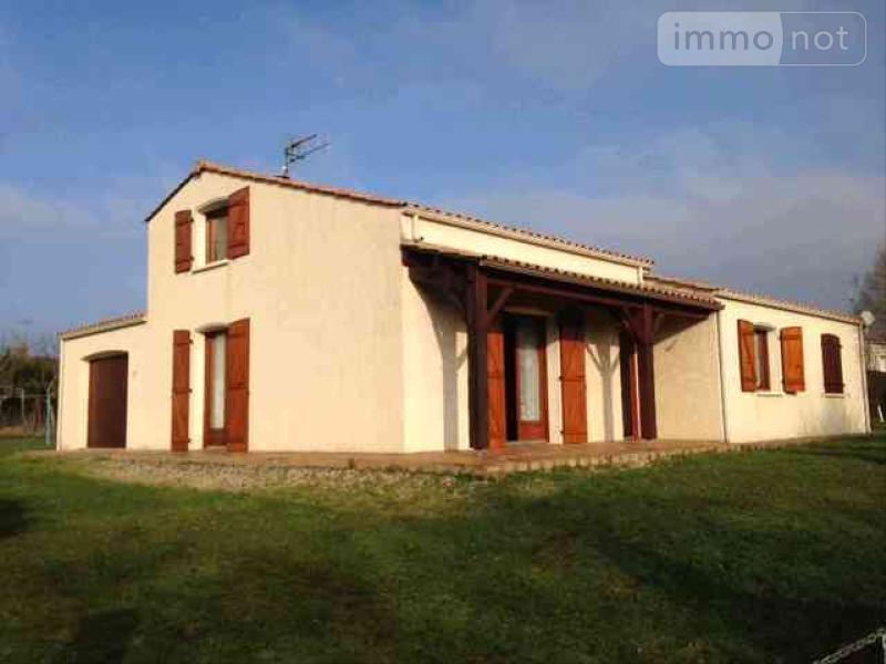 Maison a vendre Sainte-Hermine 85210 Vendee 120 m2 5 pièces 197070 euros