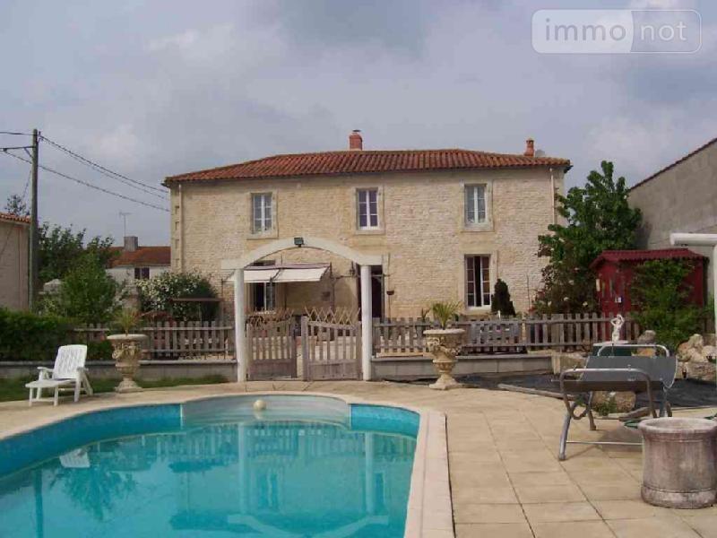 Maison a vendre Nalliers 85370 Vendee 230 m2 6 pièces 294900 euros