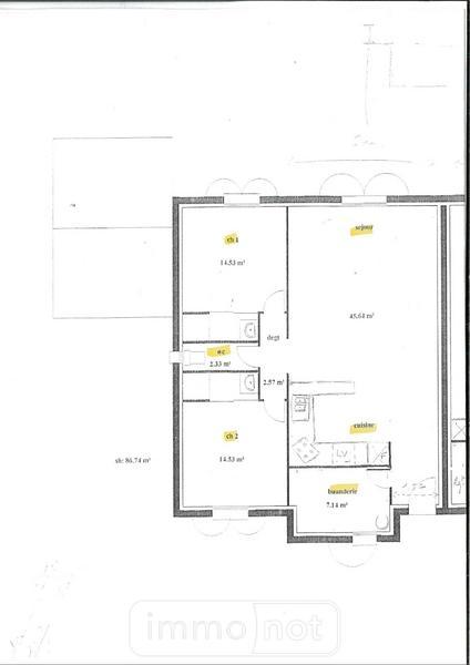 Maison a vendre Sallertaine 85300 Vendee 87 m2 3 pièces 166172 euros