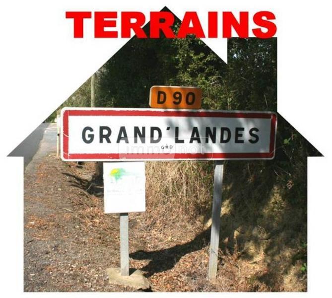 Terrain a batir a vendre Grand'Landes 85670 Vendee 334 m2  24274 euros