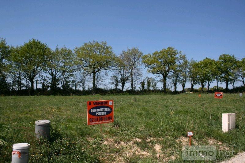 Terrain a batir a vendre Coëx 85220 Vendee 509 m2  41601 euros