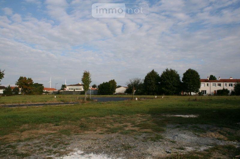 Terrain a batir a vendre Falleron 85670 Vendee 717 m2  45601 euros