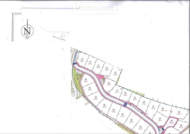 Terrain a batir a vendre Challans 85300 Vendee 561 m2  61150 euros