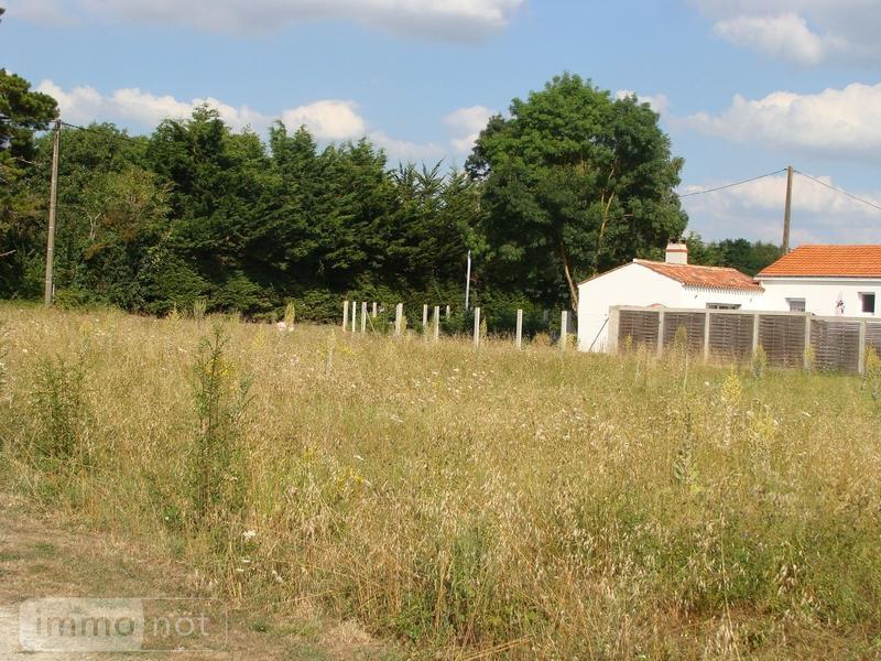 Terrain a batir a vendre Challans 85300 Vendee 600 m2  78622 euros