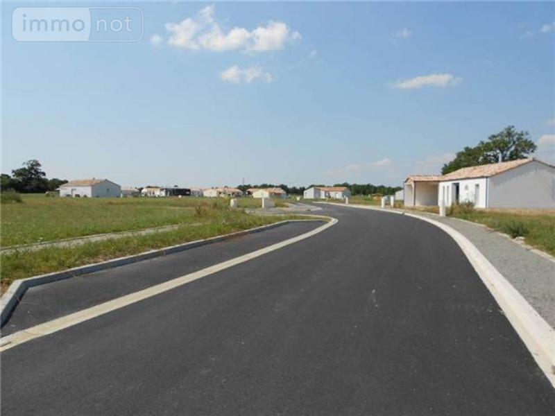 Terrain a batir a vendre La Garnache 85710 Vendee 586 m2  50162 euros