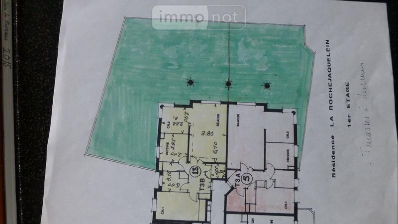 Appartement a vendre Challans 85300 Vendee 72 m2 3 pièces 158962 euros