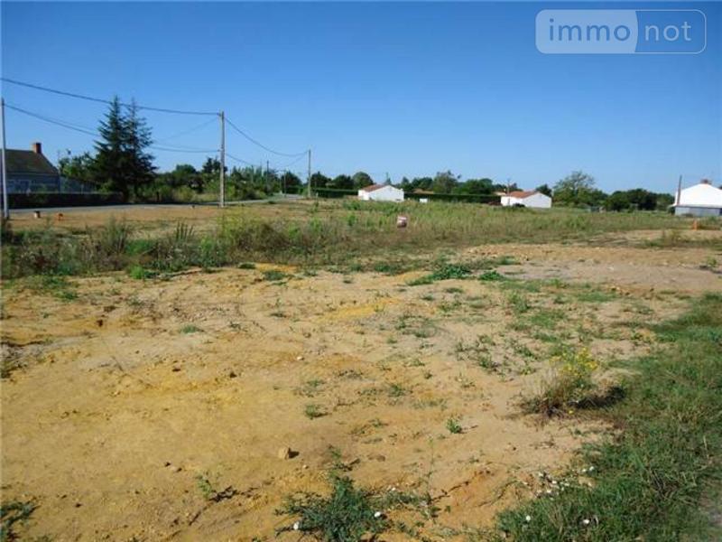 Terrain a batir a vendre Challans 85300 Vendee 633 m2  63311 euros