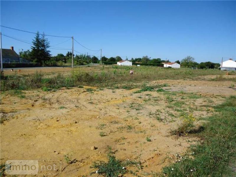 Terrain a batir a vendre Challans 85300 Vendee 651 m2  58367 euros