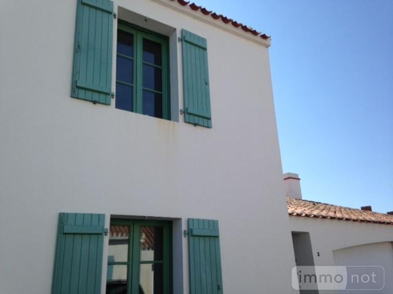 Maison a vendre Noirmoutier-en-l'Île 85330 Vendee 95 m2 4 pièces 248572 euros