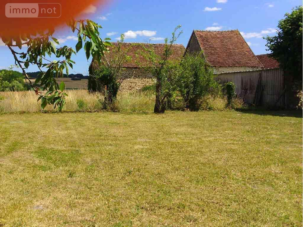Terrain a batir a vendre La Guerche 37350 Indre-et-Loire 842 m2  29680 euros