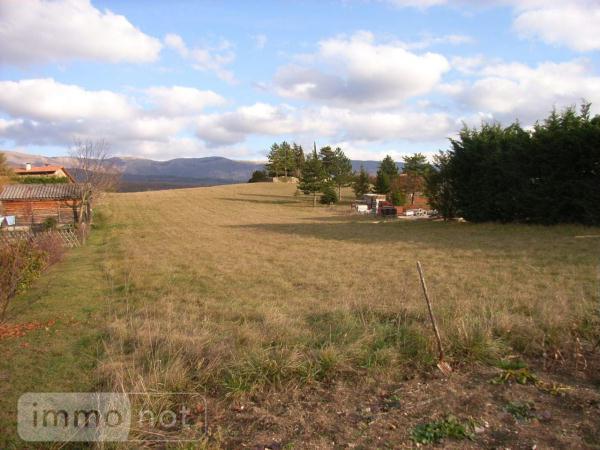 Terrain a batir a vendre Bourdeaux 26460 Drome 1013 m2  55000 euros