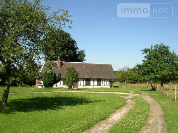 Maison a vendre Voiscreville 27520 Eure 3 pièces 101280 euros