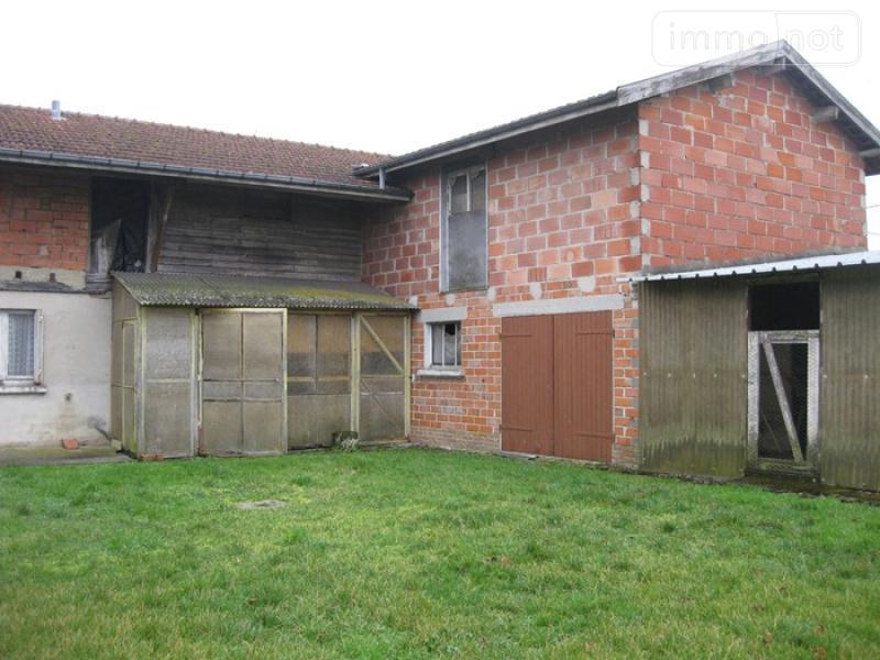 Maison a vendre Orconte 51300 Marne 3 pièces 92000 euros