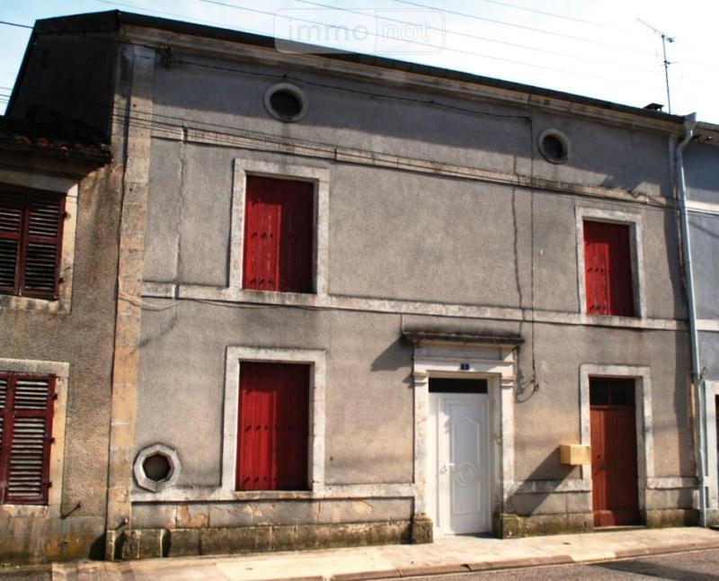 Maison a vendre Demange-aux-Eaux 55130 Meuse 7 pièces 78600 euros