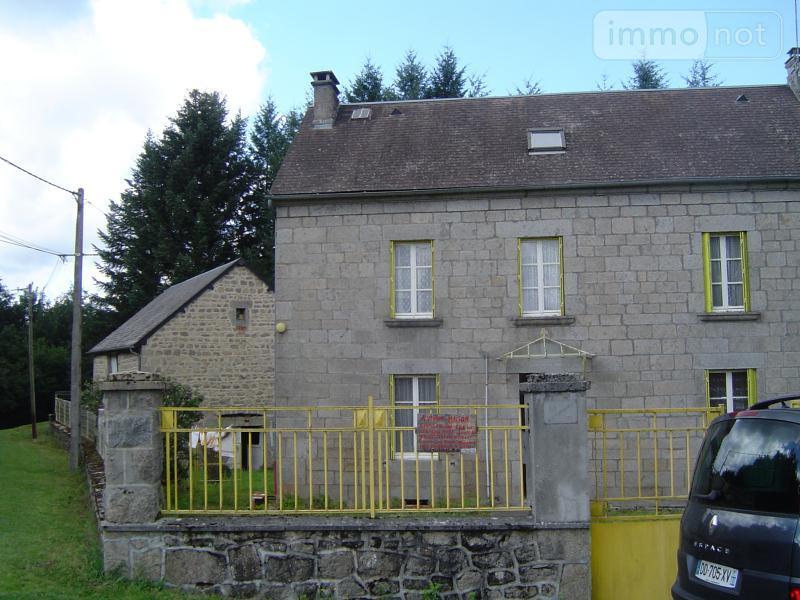 Maison a vendre Magnat-l'Étrange 23260 Creuse 6 pièces 130000 euros