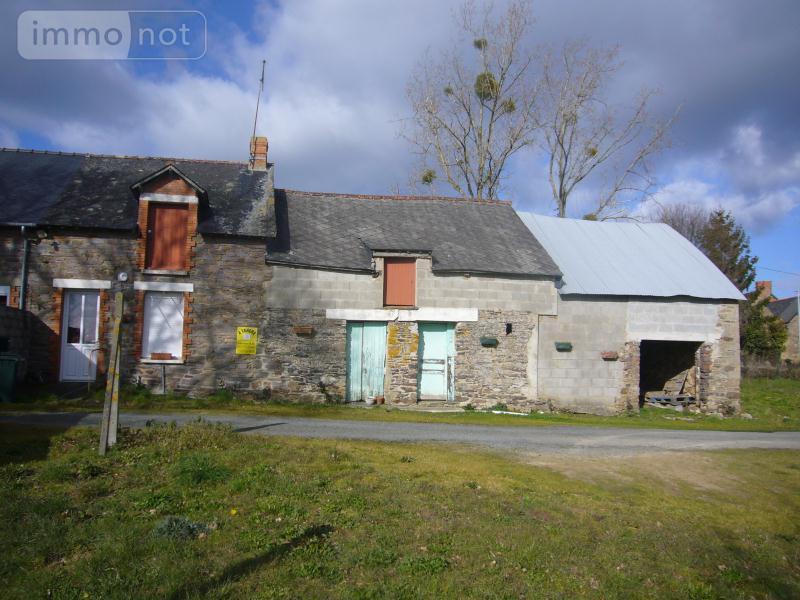 Maison a vendre Maure-de-Bretagne 35330 Ille-et-Vilaine 1 pièce 37100 euros