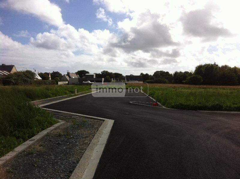 Terrain a batir a vendre Plobannalec-Lesconil 29740 Finistere 663 m2  41300 euros