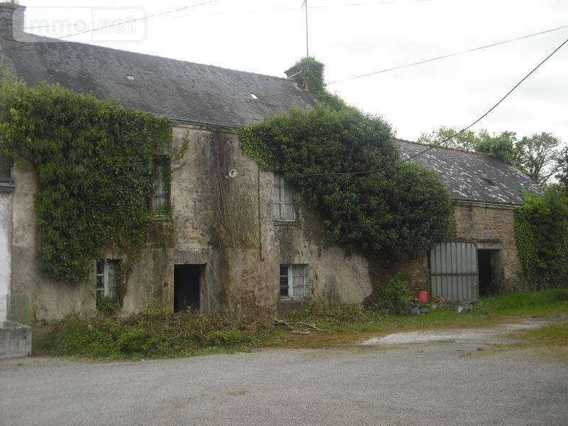 Maison a vendre Bubry 56310 Morbihan 4 pièces 63000 euros