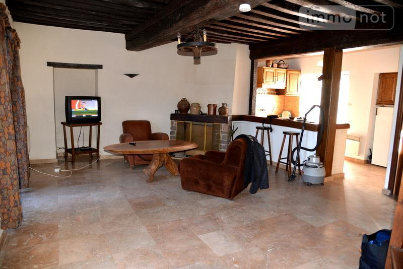 Maison a vendre Saint-Brancher 89630 Yonne 97 m2 6 pièces 135000 euros