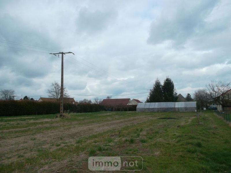Terrain a batir a vendre Ouroux-sur-Saône 71370 Saone-et-Loire 1500 m2  40000 euros