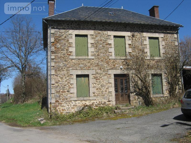 Achat maison a vendre sornac 19290 corr ze 8 pi ces for Achat maison correze
