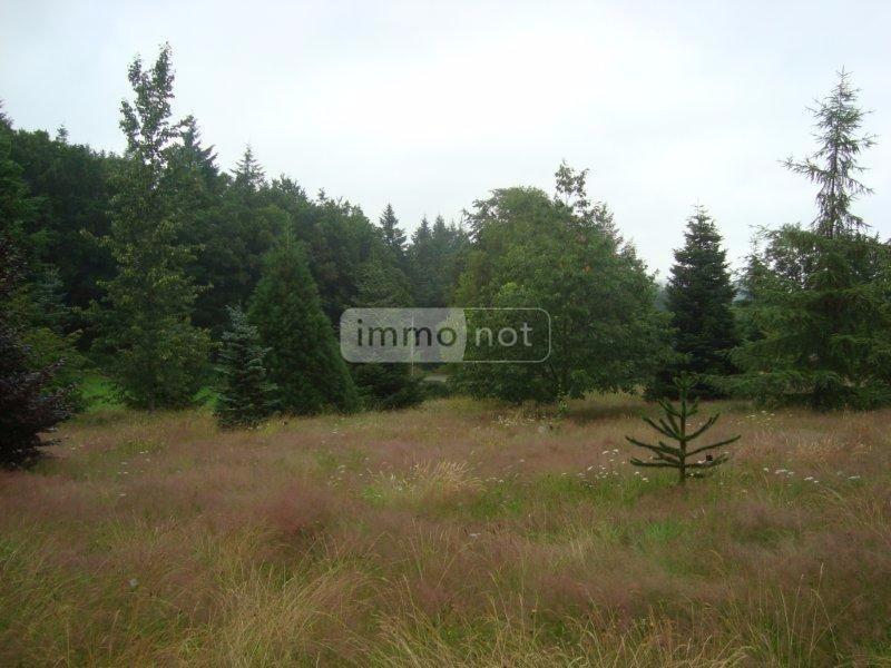 Terrain a batir a vendre Meymac 19250 Correze 4587 m2  31800 euros
