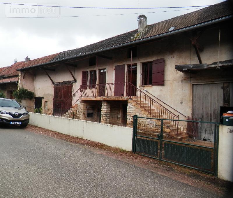 Maison a vendre Mancey 71240 Saone-et-Loire 80 m2  117000 euros