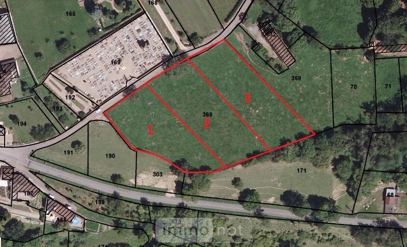 Terrain a batir a vendre Semur-en-Brionnais 71110 Saone-et-Loire 1856 m2  26818 euros