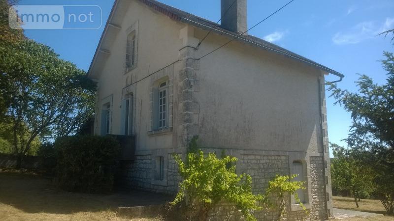 Maison a vendre Beaussac 24340 Dordogne 90 m2 5 pièces 78000 euros