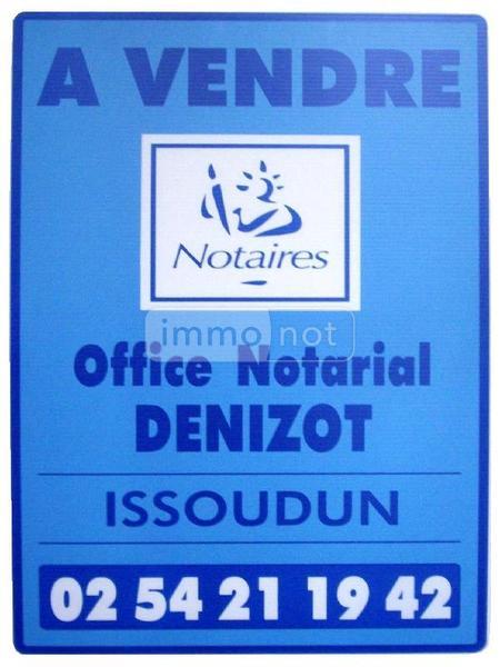 Maison a vendre Meunet-Planches 36100 Indre 197 m2 6 pièces 124972 euros