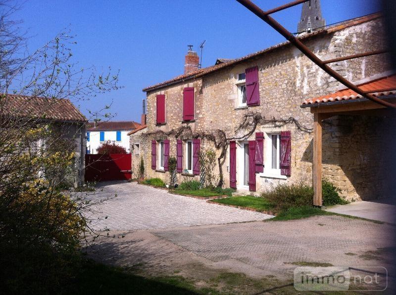 Maison a vendre Sainte-Verge 79100 Deux-Sevres 216 m2 5 pièces 284622 euros