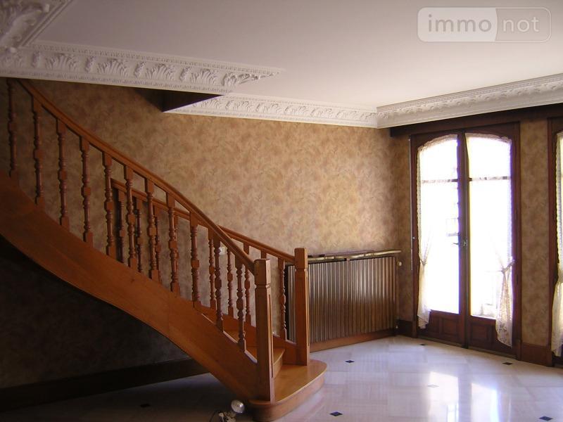 Maison a vendre Montluçon 03100 Allier 9 pièces 207372 euros