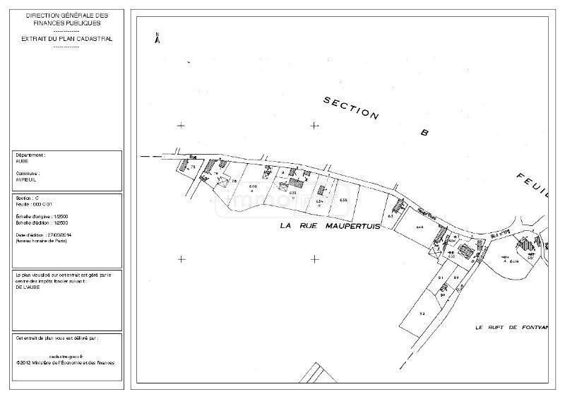 Terrain a batir a vendre Avreuil 10130 Aube  46410 euros
