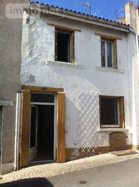 Maison a vendre Thouars 79100 Deux-Sevres 60 m2 3 pièces 15900 euros