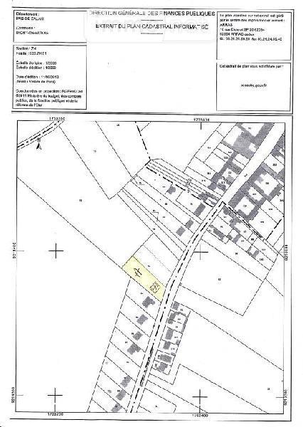 Terrain a batir a vendre Inchy-en-Artois 62860 Pas-de-Calais 1050 m2  59000 euros