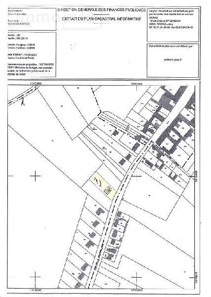Terrain a batir a vendre Inchy-en-Artois 62860 Pas-de-Calais 1084 m2  59000 euros