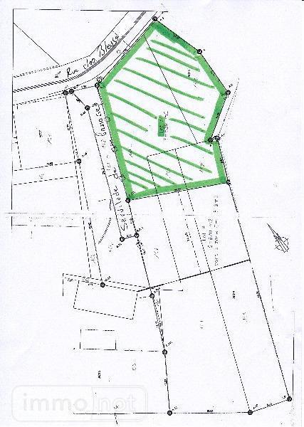 Terrain a batir a vendre Graincourt-lès-Havrincourt 62147 Pas-de-Calais 639 m2  44000 euros