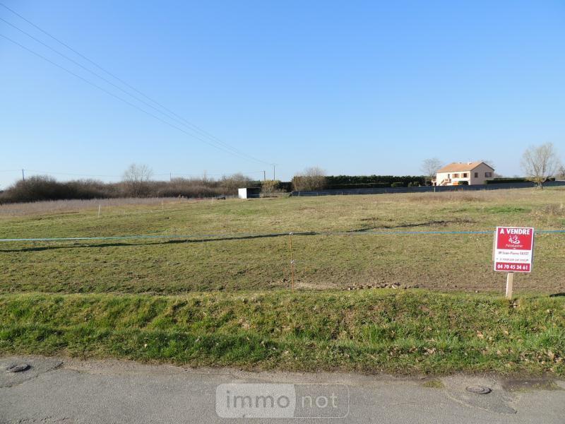 Terrain a batir a vendre Monétay-sur-Allier 03500 Allier 1870 m2  20000 euros