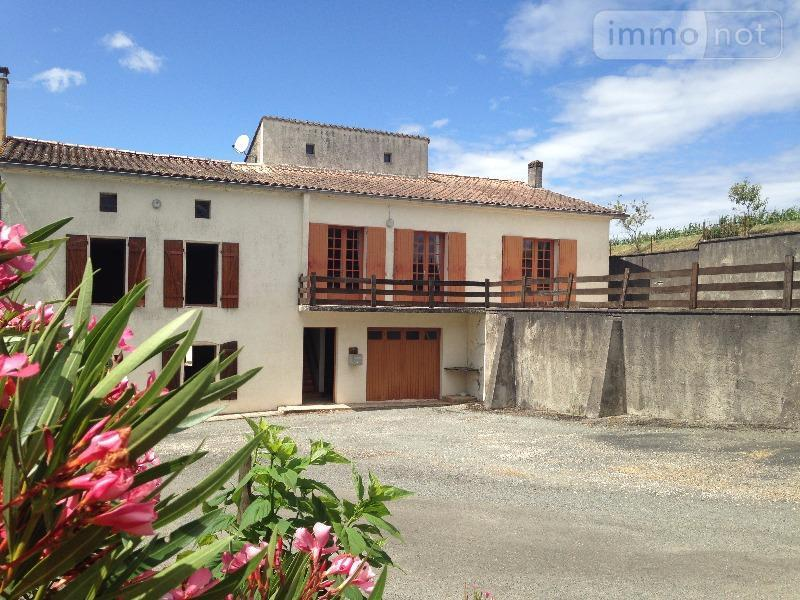 Maison a vendre Saint-Genis-de-Saintonge 17240 Charente-Maritime 110 m2 7 pièces 279472 euros